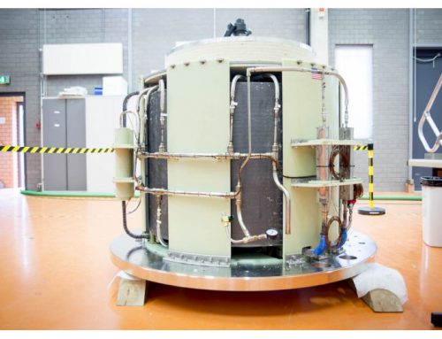SUPERCONDUCTING COIL FOR HFML'S 45 T HYBRID MAGNET